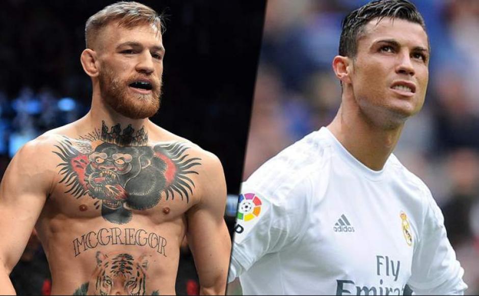 Conor McGregor y Cristiano Ronaldo son dos de los atletas mejor pagados del mundo (Foto: Marca)