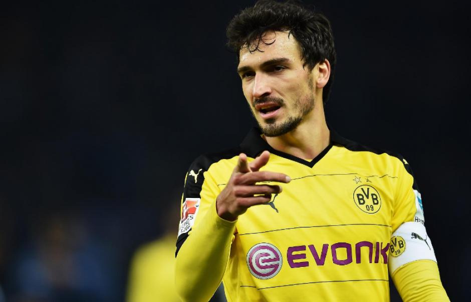 Mats Hummels recién dejó el Dortmund para irse al Bayern.(BVB)
