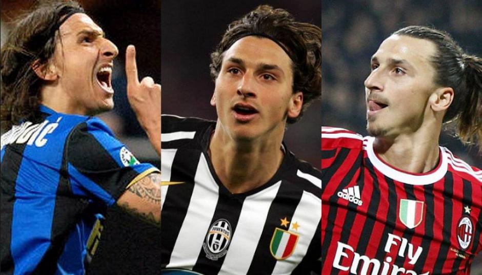 Zlatan ha jugado entre los tres máximos rivales italianos, Inter, Juve y Milan. (Univisión)