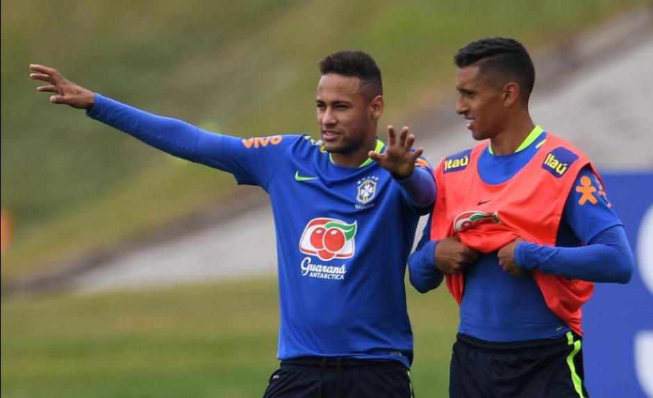 El brasileño ya está concentrado con su selección (Foto: ESPN)