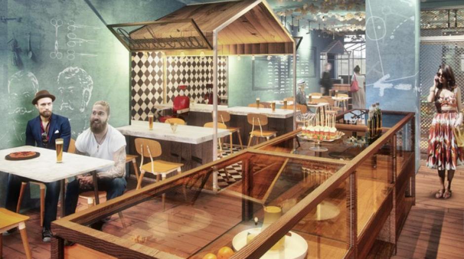 En Barcelona Messi abrió su restaurante. (Foto: La Vanguardia)