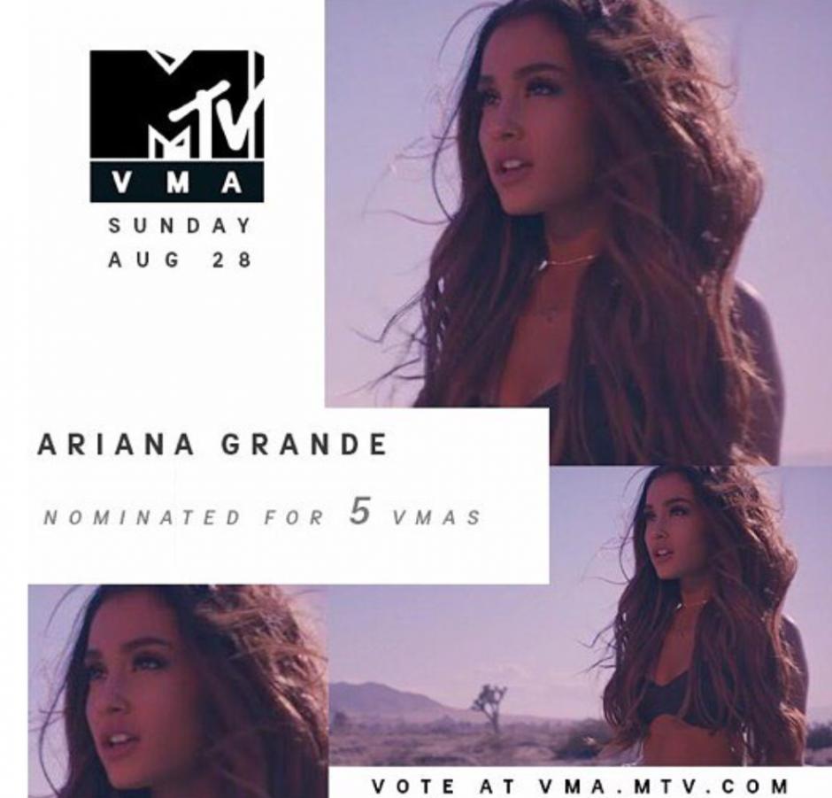 La cantante dio a conocer sus nominaciones en sus redes sociales. (Foto: Instagram)
