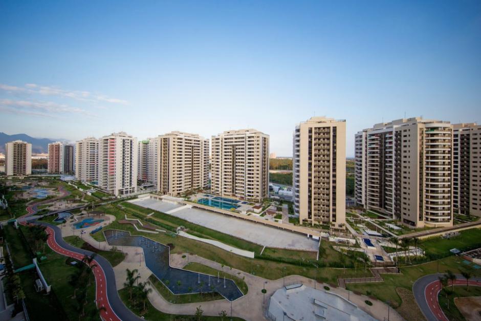 Este es el complejo de edificios de la Villa Olímpica. (Rio2016.com)