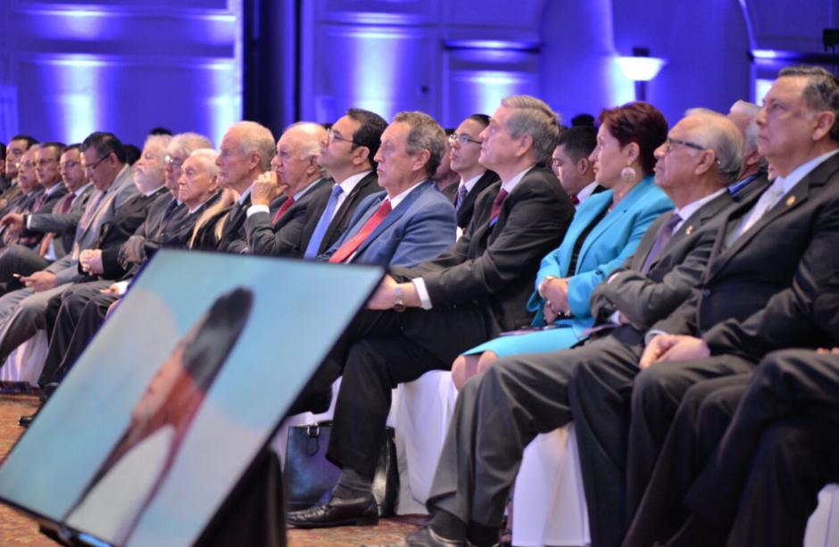 Varios exfuncionarios participaron del Foro. (Foto: Wilder López/Soy502)