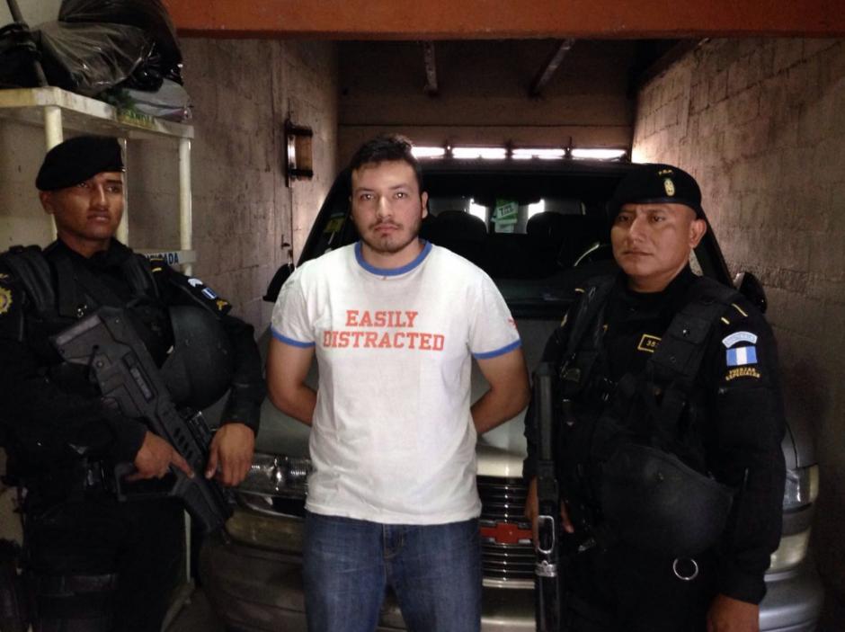 Cristian Alexander Comparini Guigui fue detenido por el crimen. (Foto: PNC).