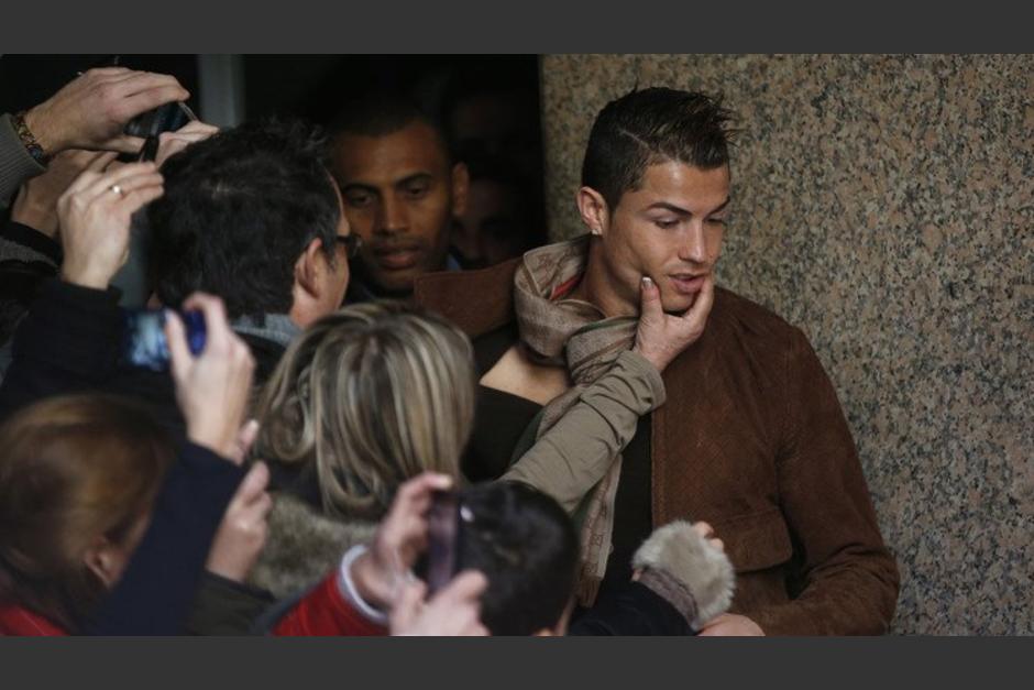 Cristiano se encuentra en Beverly Hills, Estados Unidos. (Foto: Olé)