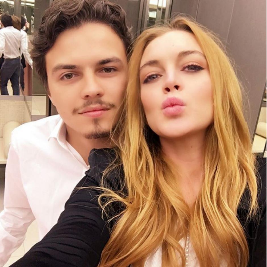 El padre de la chica aparentemente amenazó al novio por el incidente. (Foto: Instagram Lindsay Lohan)