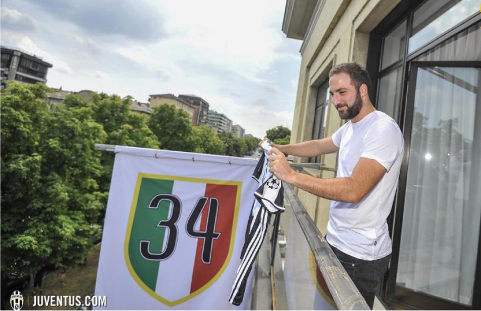 Higuaín no dijo nada sobre su antiguo club, el Napoli. (Foto: Juventus.com)