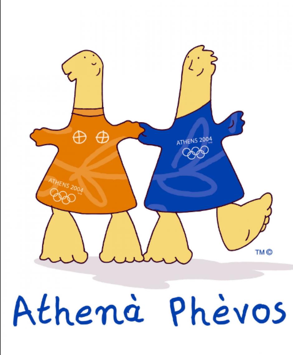 Athena y Phevos, de Atenas 2004 (Flickr)