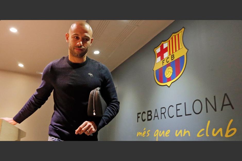 Mascherano se quedará tres años más en el Barcelona. (Foto: FCB)