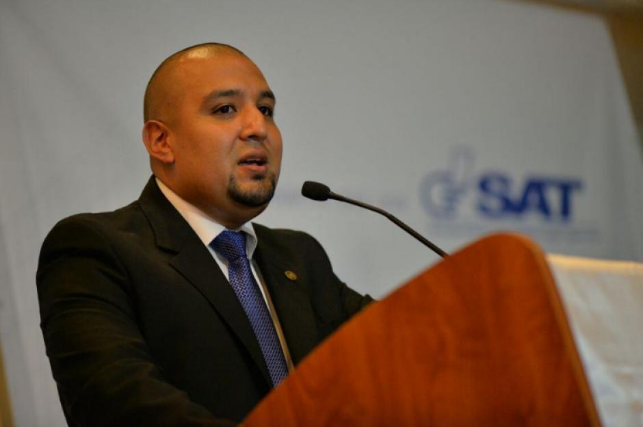 Juan Francisco Solórzano Foppa llegó a la SAT el 9 de marzo. (Foto: Archivo/Soy502)
