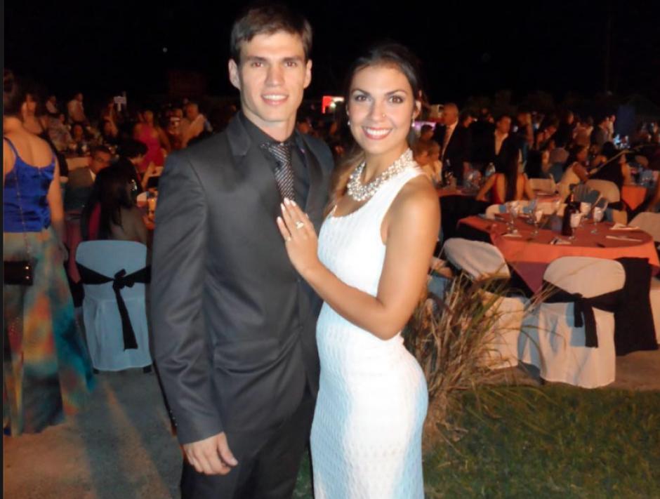 El novio de la modelo argentina que murió en Guatemala publicó fotos en su Facebook. (Foto: Facebook/Jheison Roy Steinhorst)