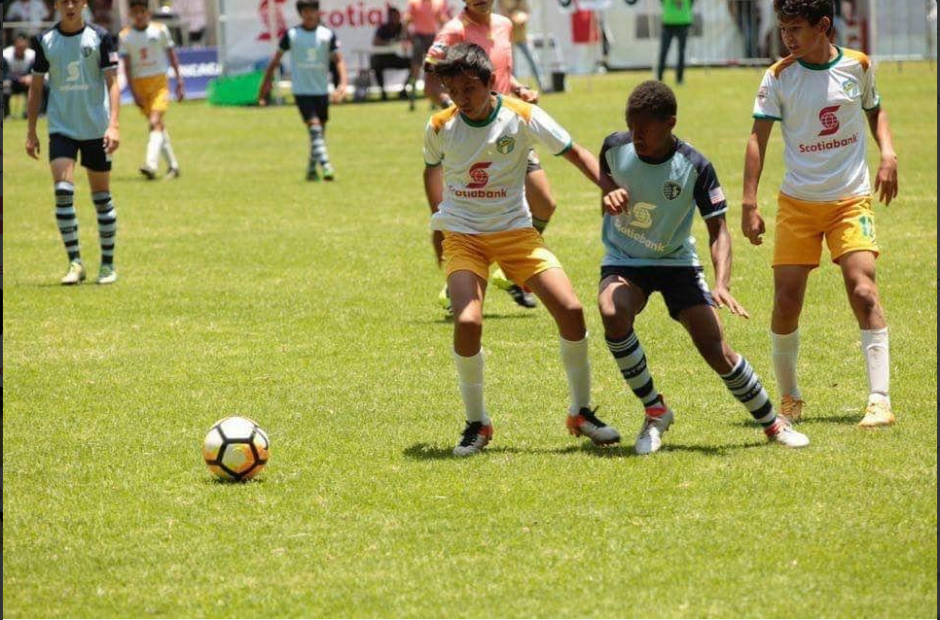 El partido se disputó este viernes al mediodía en la Ciudad de México. (Foto: Scotia Bank)