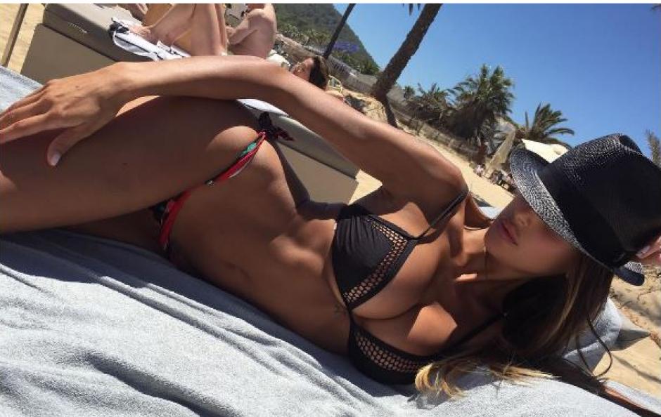 Esta modelos italiana confesó a una revista su cita con Cristiano. (Foto: Instagram)
