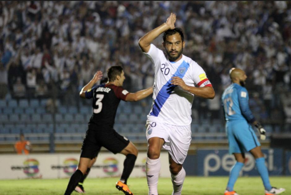 """Carlos """"el Pescado Ruiz"""" es llamado nuevamente a la Selección de fútbol. (Foto: archivo/Soy502)"""
