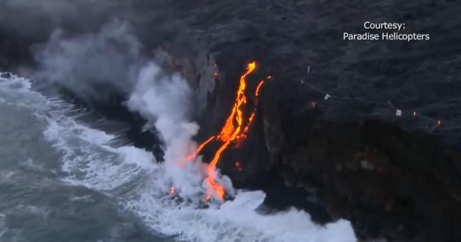 El volcán Kilauea entró en erupción en mayo. (Foto: captura de pantalla)