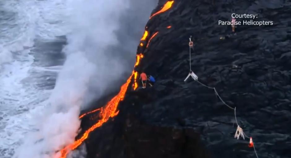El volcán Kilauea es uno de los más activos de la Tierra. (Foto: Captura de pantalla)
