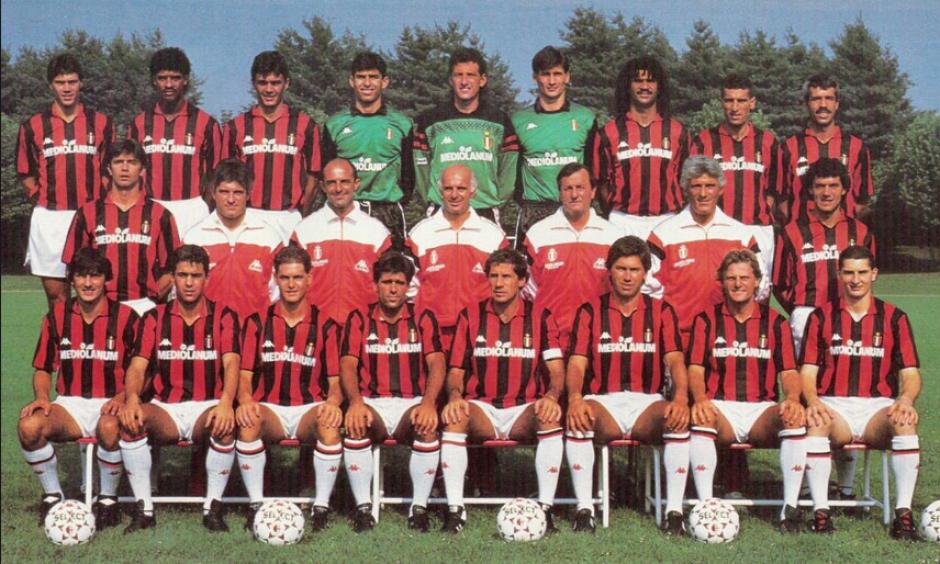 El famoso Milán de Sacchi que dominó en los 80. (Foto: Wikipedia)