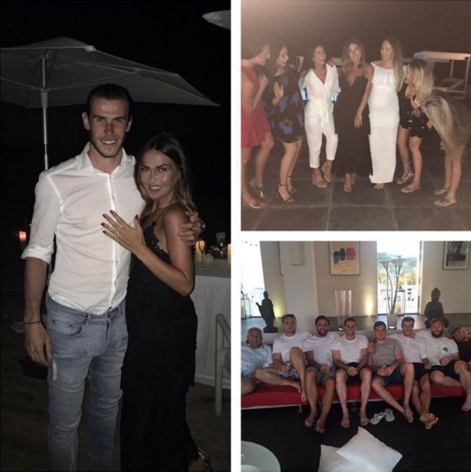 Imagen que compartió Bale en Instagram.