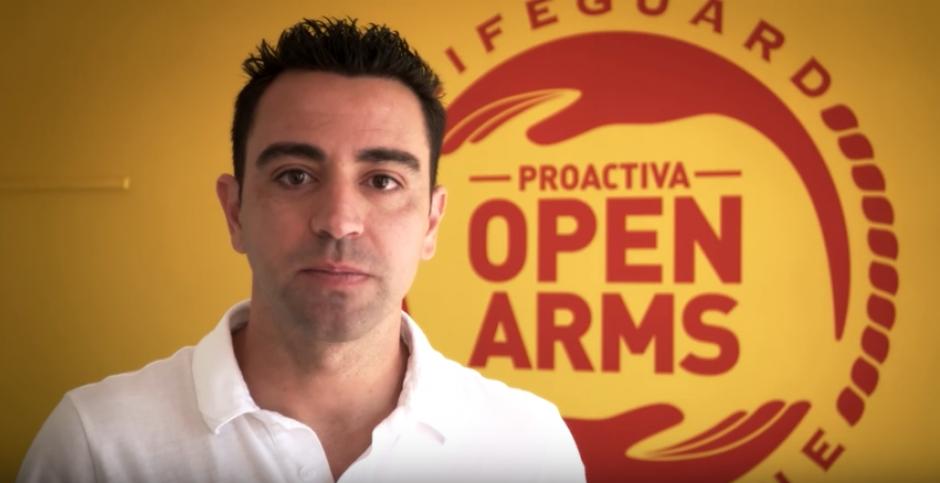 Xavi pidió más apoyo para rescatar a los refugiados. (Captura de Pantalla)