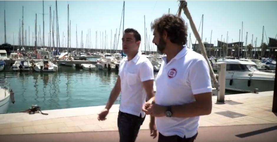 El jugador del Barça ya no usaba su embarcación. (Captura de Pantalla)