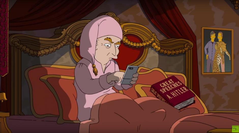 El republicano Donald Trump también aparece en la parodia. (Imagen: Captura de YouTube)