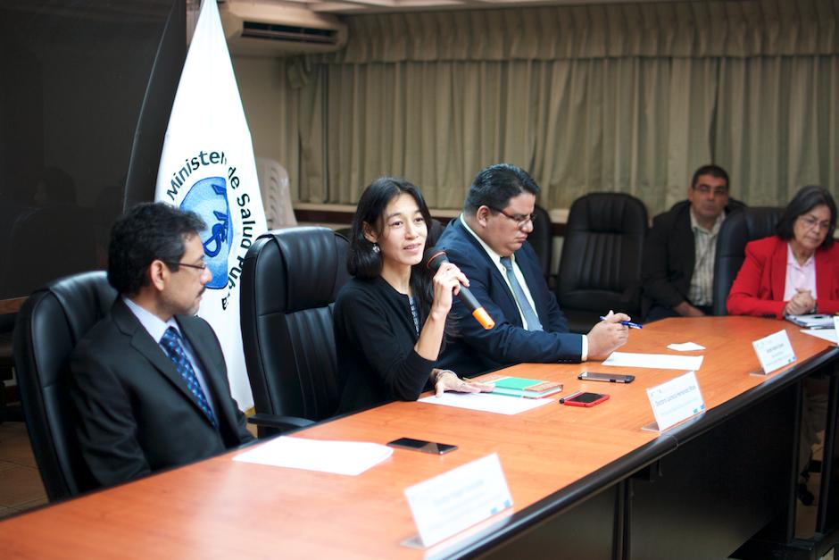 Lucrecia Hernández Mack reveló los resultados del proceso de verificación de trabajadores de la cartera que terminó el pasado viernes. (Foto: Alejandro Balán/Soy502)