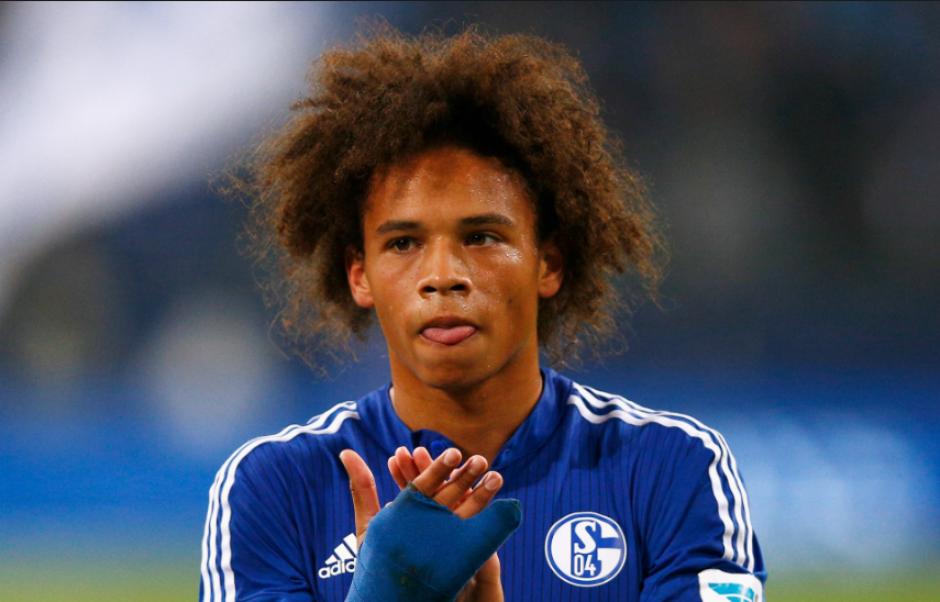 Leroy Sané jugaba en el Schalke alemán. (DirecTVSports)
