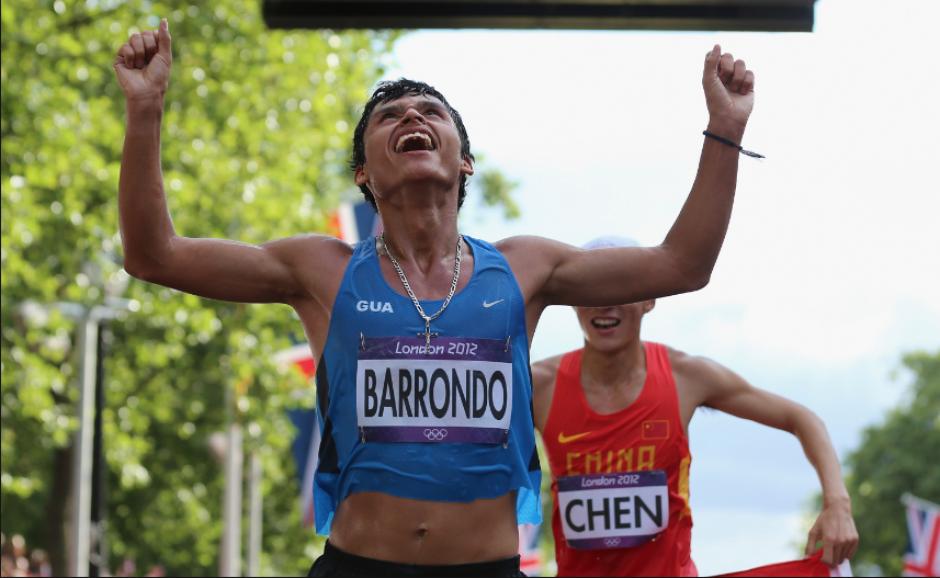 Erick Barrondo buscará otra medalla en Río. (Foto: Soy502)