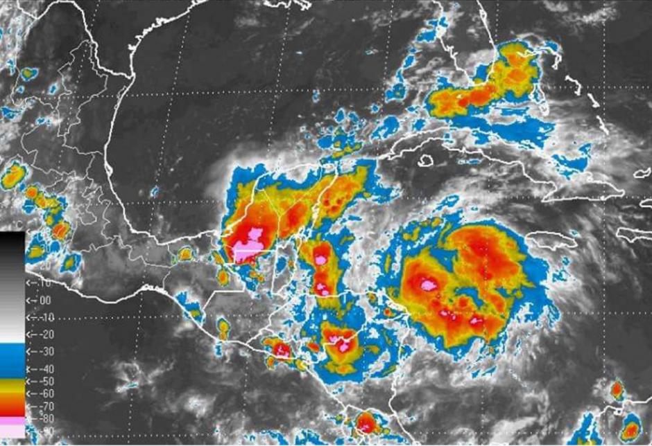 La tormenta tropical podría convertirse en huracán en las próximas horas. (Foto: NHC)