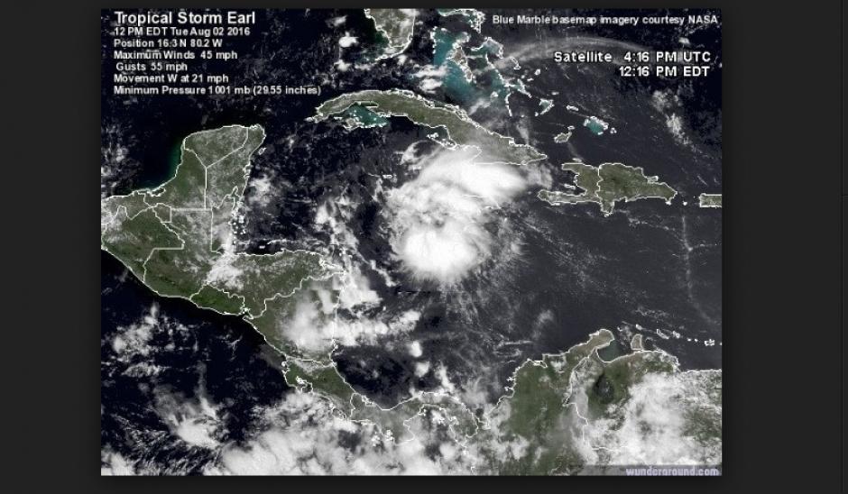 El Centro Nacional de Huracanes ha informado sobre la formación de la tormenta. (Foto: nhc.noaa.gov)