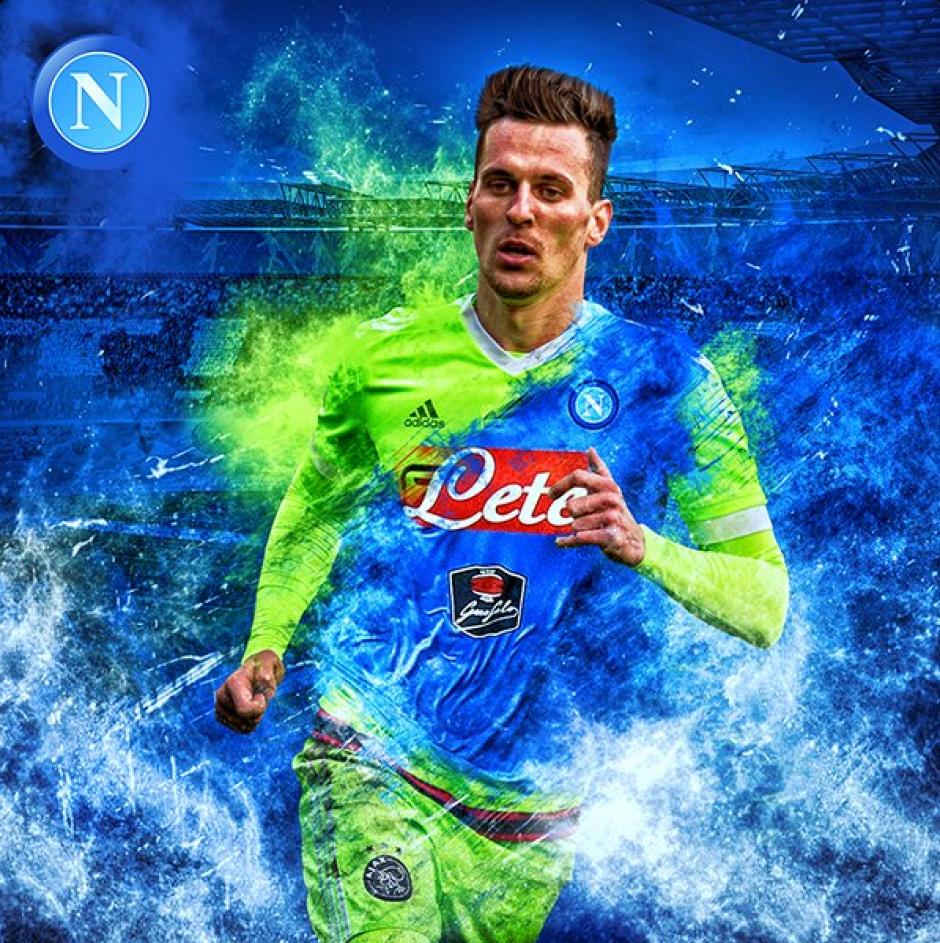 El Napoli pagó 35 millones de euros por él. (Foto: @ArekMilik)