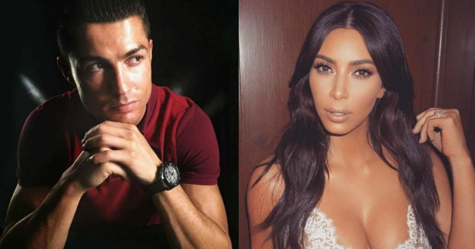 Cristiano y Kim Kardashian se encontraron en Las Vegas. (Instagram)