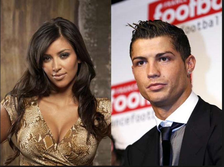 El portugués se coló en una foto de Kim y sus amigas. (Instagram)