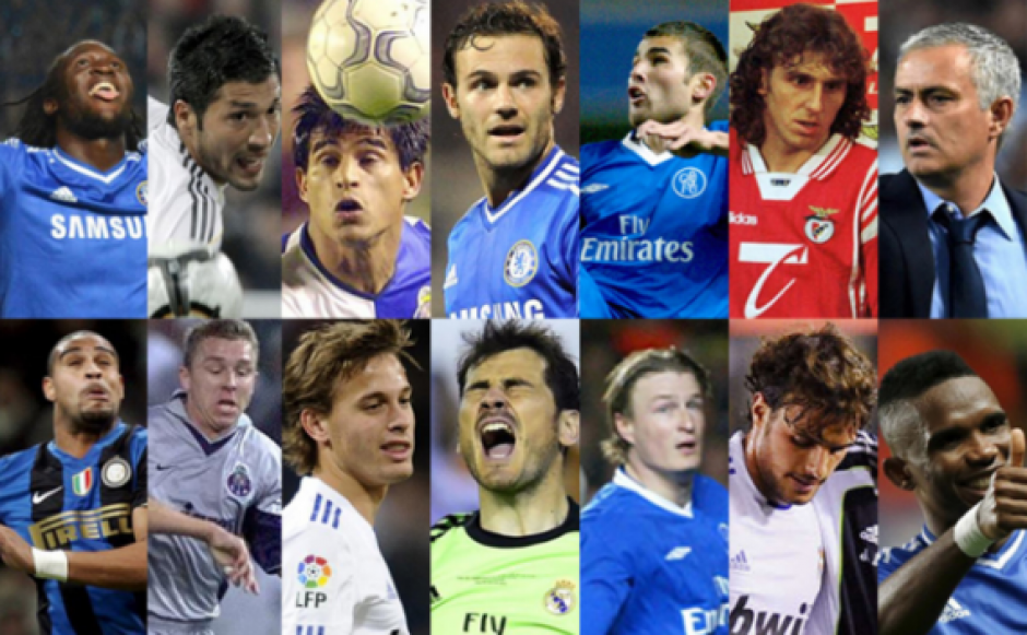 Todos estos jugadores han tenido enfrentamientos con Mou. (Foto: Marca)