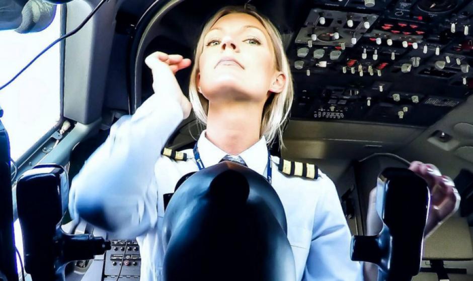 María Petterson es una joven piloto de avión. (Foto: Instagram)