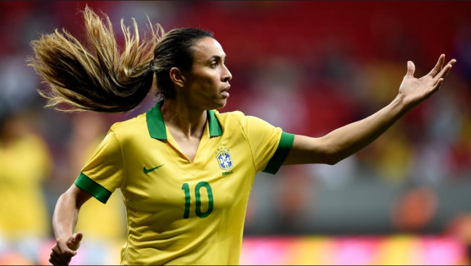 Marta, la gran capitana de Brasil, quiere su primer oro. (Foto: GloboEsporte)