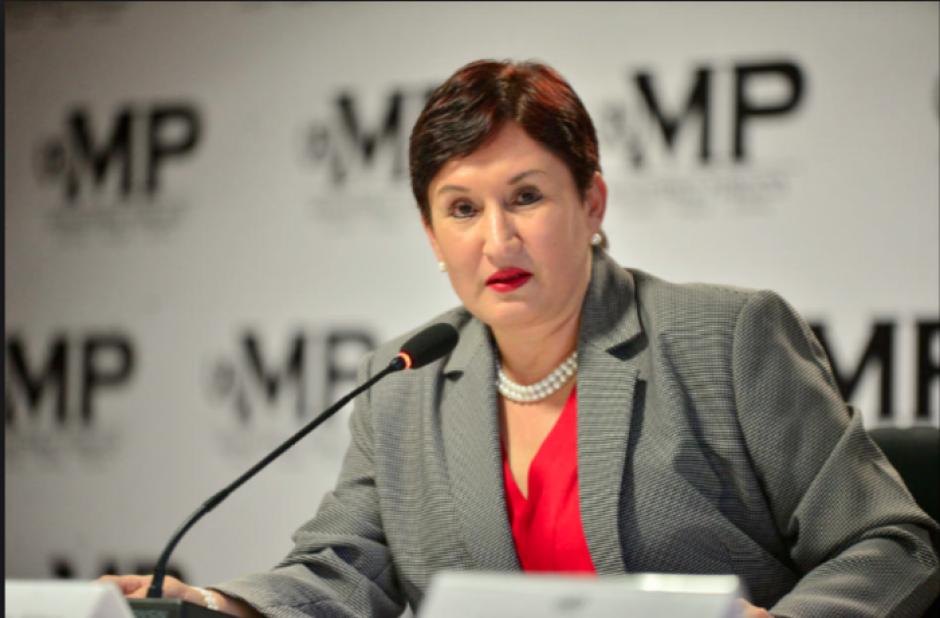 La fiscal general Thelma Aldana luce un nuevo atuendo. (Foto: Archivo/Soy502)