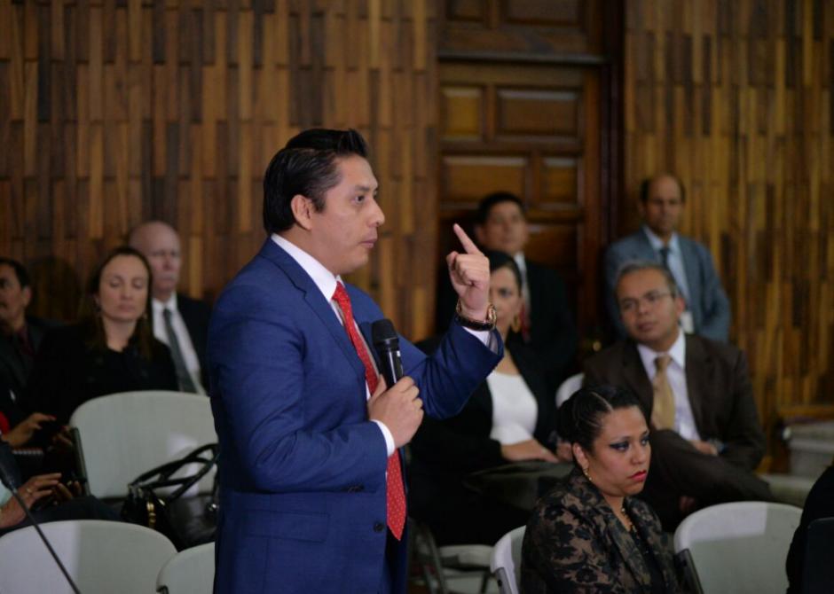 Mario Cano quedó con arresto domiciliario. (Foto: Wilder López/Soy502)