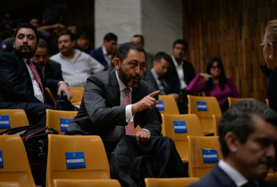 Mauricio López Bonilla seguirá en prisión. (Foto: Wilder López/Soy502)