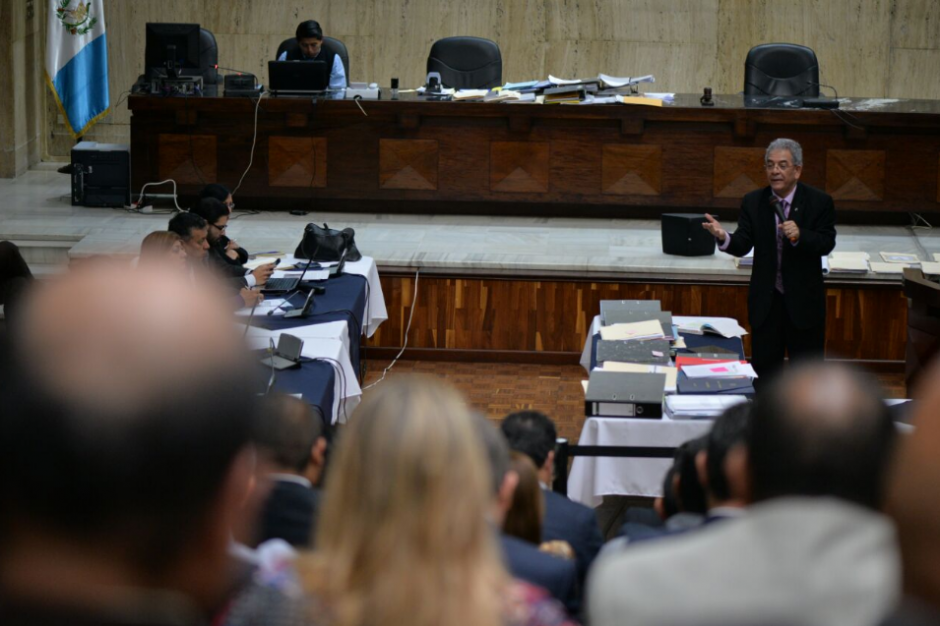 La audiencia de primera declaración tuvo una duración de 32 días. (Foto: Wilder López/Soy502)
