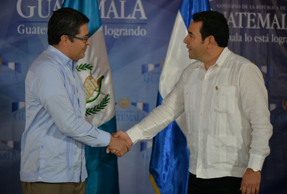 Guatemala y Honduras acordaron colaborar en la lucha contra las pandillas. (Foto: Wilder López/Soy502)