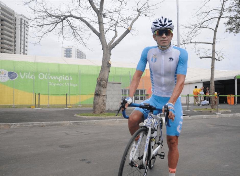 Manuel Rodas ya practicó en la ruta donde competirá mañana. (Foto: Archivo/Soy502)