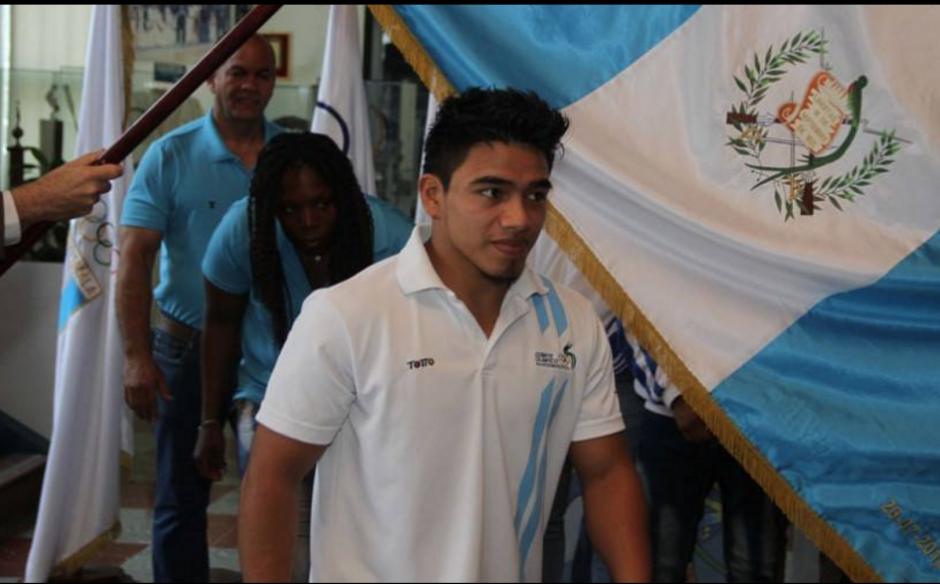 El judoca José Ramos es uno de los primeros guatemaltecos en competir. (Foto: Archivo/Soy502)