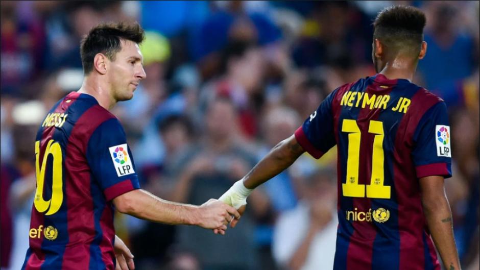 8 años después se fue al Barça, con su amigo Messi (Foto: Sport)