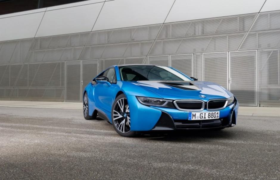 Vista frontal del lujoso BMW (Foto: BWMblog.com)