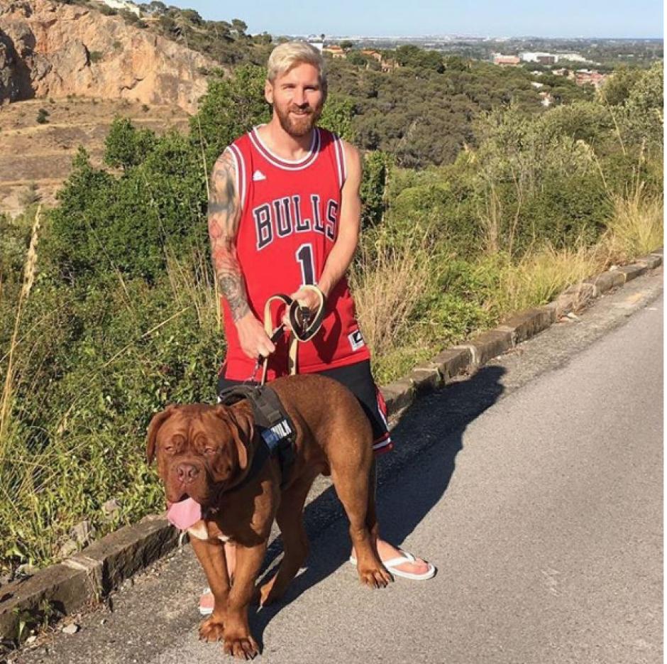 Ahora tanto Leo como Hulk están totalmente diferentes (Foto: Instagram/Messi)