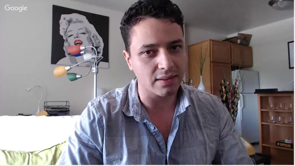 Edgar Duarte es un ingeniero guatemalteco que promueve este monitor para detectar qué tipo de agua llega a nuestros hogares. (Captura de YouTube)