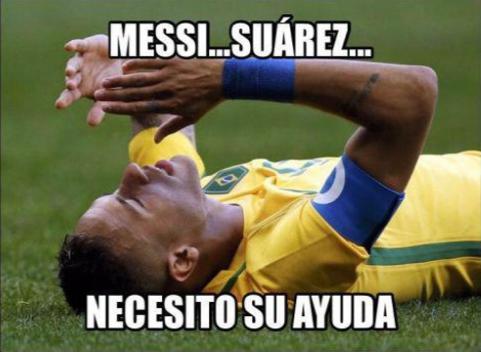 Los memes no perdonaron la mala actuación de Brasil. (Foto:Twitter)