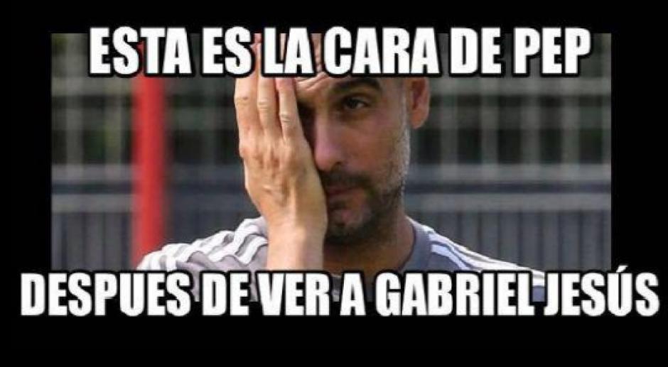 Hasta Pep Guardiola apareció en las imágenes. (Foto:Twitter)